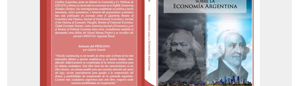 Tapa de libro: Reflexiones sobre la Economía Argentina